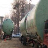 Tank van de Opslag van de Producten van de Greep van de Glasvezel FRP de Chemische