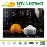Пищевая добавка зеленый сахара Stevia Rebaudiana Ra 97% для животных побочными продуктами