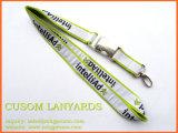 Договорная шелк печать строп предохранительного пояса с пользовательскими металлический крюк