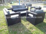 Mobília sintética ao ar livre moderna do Rattan