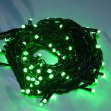 Праздник декоративные 10m черный провод светодиодные индикаторы для риса строк