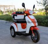 Triciclo eléctrico de batería de almacenamiento para adultos