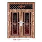 De Zoon en de Moeder van de Deur van /Entrance van de Deur van het Staal van /Stainless van de deur (6627)