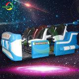 Réservoir électrique de la réalité virtuelle 6 chaises 9D VR simulateur de réalité virtuelle des machines de tournage de cinéma jeu de course