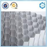 Matériaux de construction en aluminium structuraux d'âme en nid d'abeilles