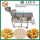 Snacks aromatizante alimentar máquinas máquina de tempero de milho-pipoca