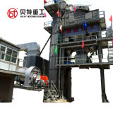 Fábrica de produção de misturas betuminosas 80-400tph com Overseas Service