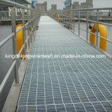 Gratings inoxidáveis certificados 304/316/Galvanized da barra de aço (kdl-135)