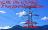 Megatro 500kv 5D1-Sdjc DCの重い角度ターミナル伝達タワー
