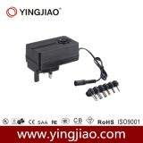 24W DC Adaptador de corriente variable con CE