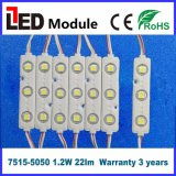 Alto módulo del lumen 5050 SMD LED para hacer publicidad del rectángulo de la muestra