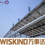 Material de construcción estructural de marco de la construcción ligera prefabricada del metal del taller/del almacén