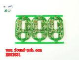Teste de cobre da Solda-Habilidade da máscara da solda de Greeb da placa do PWB da base