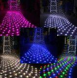 Luzes líquidas do diodo emissor de luz do Natal da decoração da festão do Natal do diodo emissor de luz