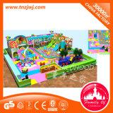 Le thème populaire badine la cour de jeu d'intérieur de château vilain commercial en plastique