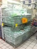 Cage de stockage de pliage de qualité supérieure, Cage d'affichage