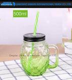 500mlパイナップルカクテルの新型の飲むガラスのメーソンジャー
