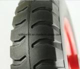 3.50-8 내구재 스포크는 고품질 관이 없는 PU 거품 바퀴를 선회한다