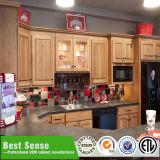 Gabinete de cozinha acrílico do MDF do lustro 2016 elevado para a sala de visitas na boa qualidade