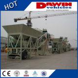 Impianto di miscelazione d'ammucchiamento concreto mobile della ghiaia della sabbia del cemento di prezzi della pianta