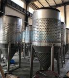 O fermentador da cervejaria do aço inoxidável para o armazenamento, transporta o alimento, bebida (ACE-FJG-S6)