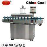 Máquina contínua automática da selagem da indução da tampa da folha de alumínio