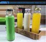 375ml 물개 Sylinder 과일 식초를 위한 유리제 음료 단지