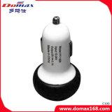 Заряжатель автомобиля Rtractable переходники силы разъема USB мобильного телефона двойной