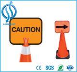 Montagem do Cone do tráfego rodoviário de PVC sinais do Cone