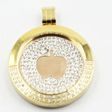 Hot Selling Stainless Steel Locket Pendant Fashion Jewelry