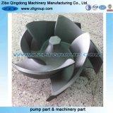 Parte chimica della pompa centrifuga dell'acqua in titanio/acciaio inossidabile 4X3-10h