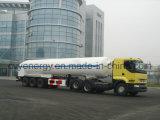 Nova substância química de oxigénio líquido de GNL de dióxido de azoto, árgon carro tanque de combustível semi reboque