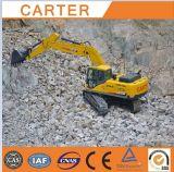 Escavatore idraulico resistente multifunzionale dell'escavatore a cucchiaia rovescia del cingolo di CT360-8c