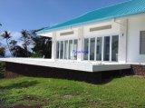 Porte Bifold en aluminium personnalisée avec le double vitrage