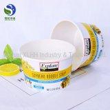 Ecológico noodle bowl com design de publicidade gratuita