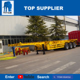 Titan-Fahrzeug - 40 Fuss-gerader Rahmen-Behälter-Chassis-Schlussteil für Verkauf Philippinen