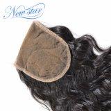 Chiusura naturale 100% del merletto dell'onda dei nuovi della stella capelli del Virgin