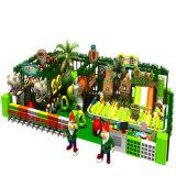 Campi da giuoco dell'interno dell'infrastruttura ricreativa del parco di divertimenti dei bambini