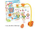 Elektronisches Baby-Spielzeug-Baby-Bett-hängendes Plastikspielzeug (H0940643)
