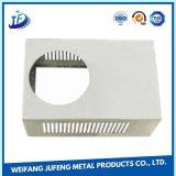 Pièces faites sur commande de fabrication en métal de soudure de découpage de laser avec estamper le procédé