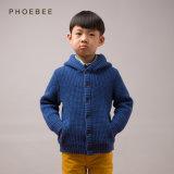 Vestiti di lavoro a maglia 100% del bambino del lusso di inverno della lana d'agnello per i ragazzi