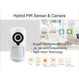 Appareil-photo de détecteur de PIR avec la radio de WiFi d'IP pour la garantie à la maison