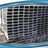 Квадратные горячего DIP ERW гальванизированные и прямоугольные стальные трубы