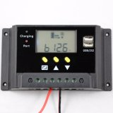 regolatore della batteria del comitato solare di 30A 12V/24V con controllo Sm30 di Light+Timer