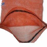 Dehnbarer Stärken-Plastik gesponnener Linon 50 lbs-Knoblauch-Kartoffel-Zwiebelen-Ineinander greifen-Beutel