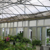 식물성 성장하고 있는을%s 상업적인 다중 경간 플레스틱 필름 녹색 집
