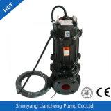 Transport des particules solides et de la longue pompe à eau d'égout de perte de fibre