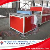 WPC Madera Perfil de plástico de la producción de la línea de extrusión
