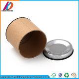 Förderung-Zylinder-Packpapier-verpackenkasten mit Metallkappe