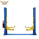 Marcação ISO duas Colunas/Duas pós a chapa do piso Hidráulico de Elevação Hidráulica de Elevação do Guindaste de carro de duas colunas